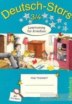 Deutsch-Stars 3/4. Lesetraining fur Krimifans