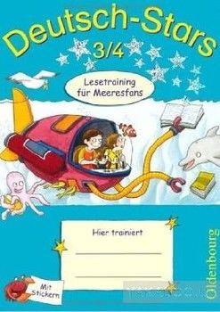 Deutsch-Stars 3/4. Lesetraining fur Meeresfans
