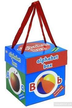 The Alphabet Mini Board Book Box Set (комплект из 26 книг)