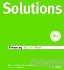 Solutions Elementary. Teacher's Book