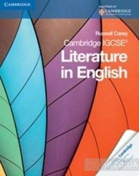 Cambridge IGCSE Literature in English. Cambridge International Examinations