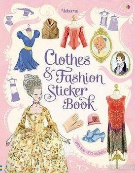 Clothes & Fashion Sticker Book